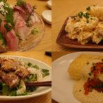 中央区本町のお勧め居酒屋、朝採れ鮮魚と肉料理 BACHI(ばち)鮮魚も肉も創作料理も美味い、スベり知らずの一店