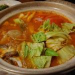 千葉、栄町のディープな居酒屋?なんちゃってBar 油を初訪問 冬の宴会プラン、トマト鍋を頂いてみた