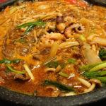 千葉中央で頂く絶品ウマ辛鍋、韓国家庭料理キムちゃんのブルナック鍋! 噂のチヂミも具材モリモリ、外せない逸品だった!!