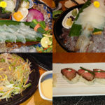 千葉駅北口すぐ側、海鮮の國波奈 本店でプチ接待 千葉の味を堪能して貰うべく、カワハギにイカにとお造り連投も、最後にゾッとした話