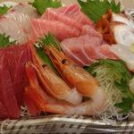 稲毛区宮野木のまちのさかなやさん海鮮恵 16時から販売のお刺身盛り合わせ980円に中とろも特売! 絶品鮮魚が勢揃いだった